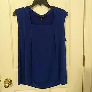 Ellen Tracy royal blue top